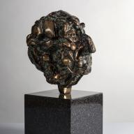 <strong>Albert Termote (klein)</strong> – 1984-1988 – brons – 17 cm – particuliere collectie (fotografie Peter Tijhuis)