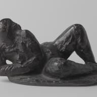 <strong>Liggend naakt</strong> – 1954 – brons – 10 x 18 x 11 cm – Rijksmuseum, Amsterdam